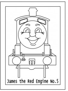 this is free clip art of thomas the tank engine. it is a train.